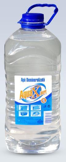 Apa demineralizata AQUAXPERT 4L