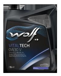 ULEI MOTOR WOLF VITALTECH 0W30 V 5L