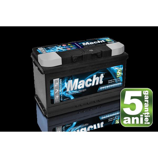 Baterie auto MACHT 25877 SILVER POWER 12V 100AH 920A - 5 ANI GARANTIE