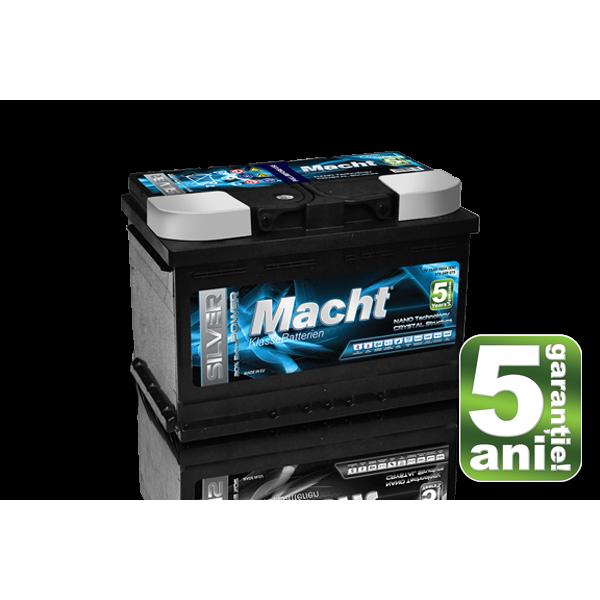 Baterie auto MACHT 25875 SILVER POWER 12V 75AH 750A - 5 ANI GARANTIE