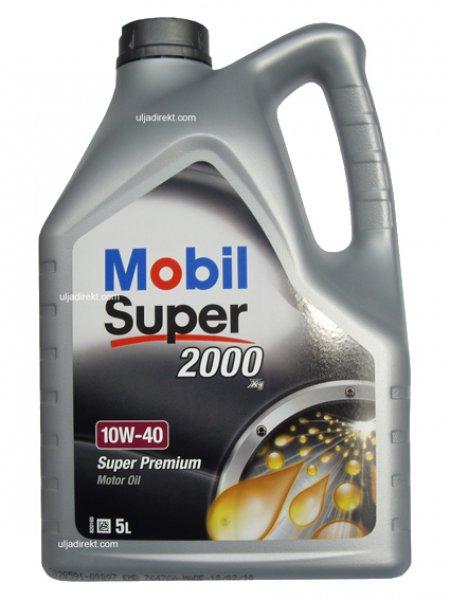 ULEI MOTOR MOBIL SUPER 2000 X1 10W40 5L