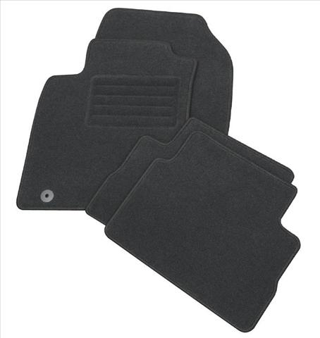Set covorase mocheta auto PETEX GERMANY model robust culoare negru HYUNDAI i10 2008-2009