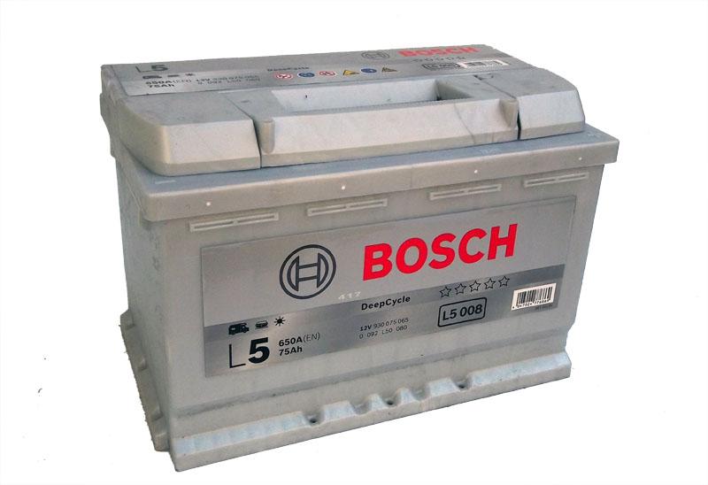 Baterie auto BOSCH 0092L50080 12V 75AH  650A