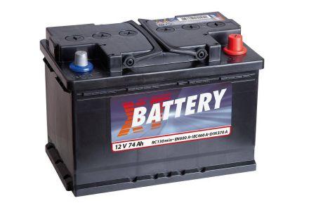 Baterie auto XT BAT Classic 12V 74AH, 600A