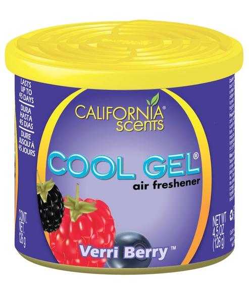 ODORIZANT COOL GEL VERRI BERRY CALIFORNIA SCENTS