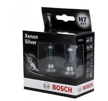 Set Bec BOSCH 1987301087 Xenon Silver H7 12V 55W 2 Buc