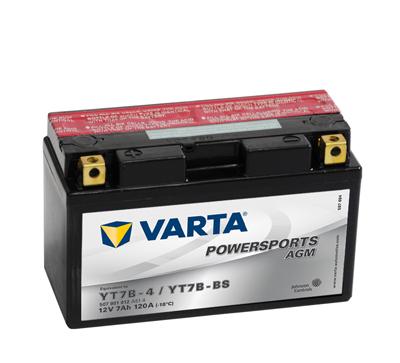 Baterie motocicleta VARTA 507901012A514 Funstart AGM YT7B-BS 12V 7AH, 120A