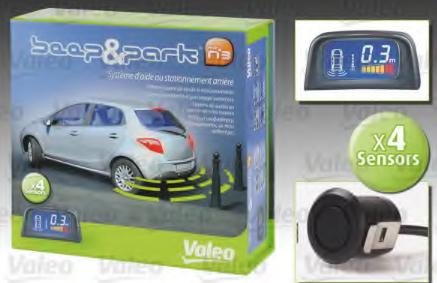 Set expansiune ajutor parcare indicator avertizare VALEO 632002