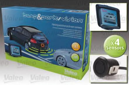 Set expansiune ajutor parcare indicator avertizare VALEO 632060