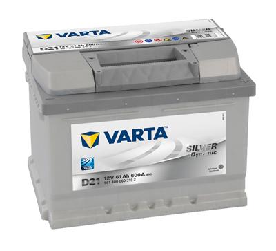 Baterie auto VARTA D21 5614000603162 Silver Dynamic 12V 61AH, 600A