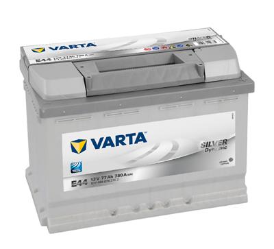 Baterie auto VARTA E44 Silver 5774000783162 Silver Dynamic 12V 77AH, 780A
