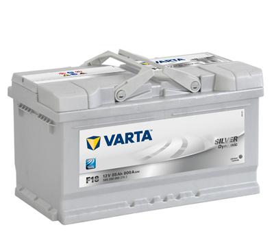 Baterie auto VARTA F18 5852000803162 Silver Dynamic 12V 85AH, 800A