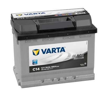 Baterie auto VARTA C14 5564000483122 Black Dynamic 12V 56AH, 480A