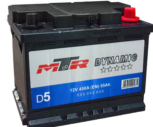 Baterie auto MTR Dynamic L2 12V 55AH, 450A