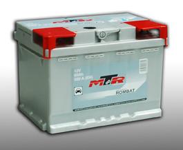 Baterie auto MTR LB2 12V 60AH, 580A