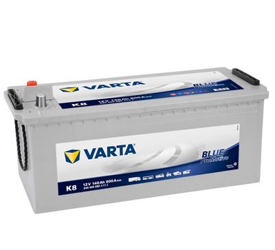 Baterie auto VARTA K8 640400080A732 Promotive Blue 12V 140AH, 800A