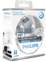 SET  Philips H7 WhiteVision